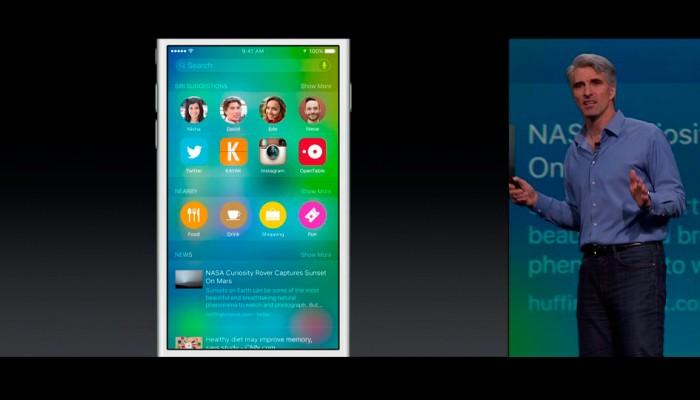 iOS 9: Apple anuncia una Siri más proactiva
