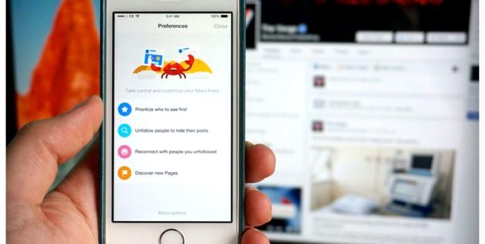 Facebook se actualiza permitiendo controlar nuestro timeline