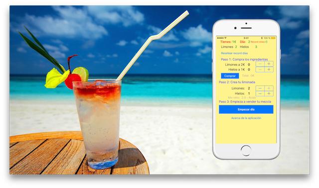 iLemonade, un refrescante juego para tu iPhone durante este verano