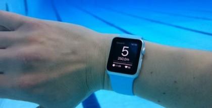 Apple Watch: app natación