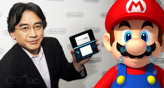 Satoru Iwata, temprano adiós al presidente de Nintendo