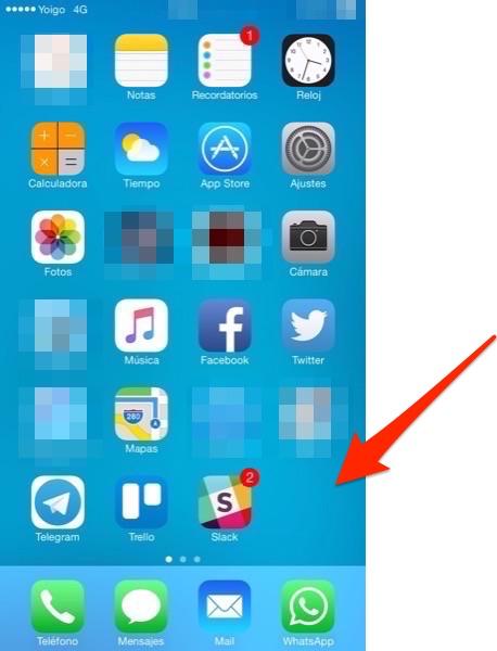 Apps nativas ocultas (Restringidas)