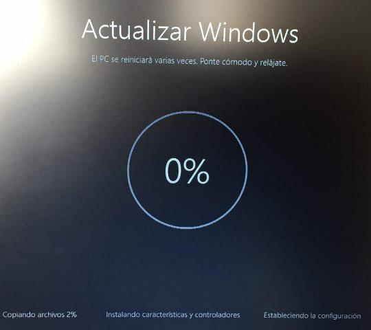 Windows 10 actualizar