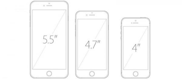 iPhone en el tiempo: nuevos tamaños