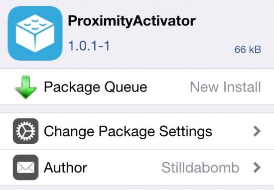 ProximityActivator: Tweak que aprovecha al m�ximo el sensor de proximidad del iPhone