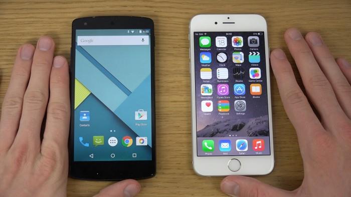 Según un estudio, Android falla más que iOS