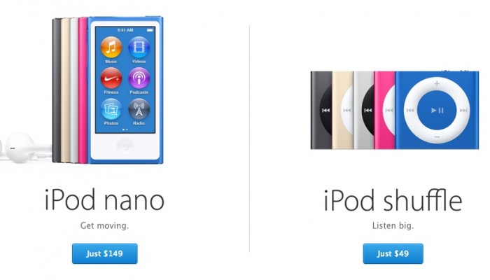 Apple lanza la actualización 1.04 del iPod nano de 7ª generación