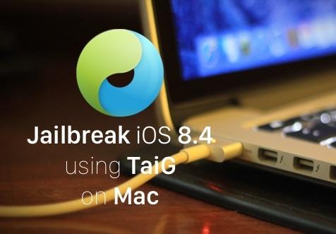 Hacer jailbreak a iOS 8.4 con Mac y Taig