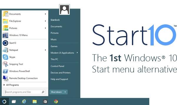 Cómo cambiar el menú de inicio en Windows 10 al estilo de Windows 7