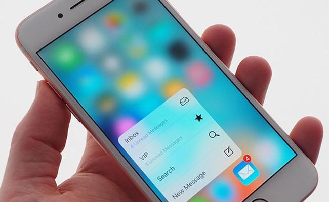¿Cómo cambiar la sensibilidad del 3D Touch en iPhone 6s?