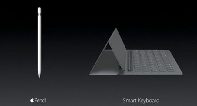 Smart Keyboard y Apple Pencil: los nuevos accesorios del iPad Pro