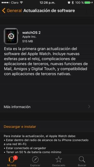 Watch OS 2 3