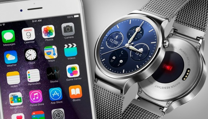 Android Wear compatible con iPhone