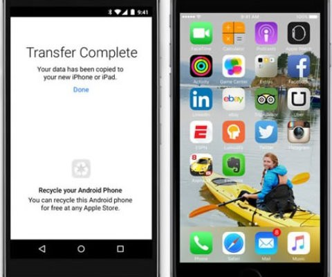 Move to iOS ya disponible en la Play Store