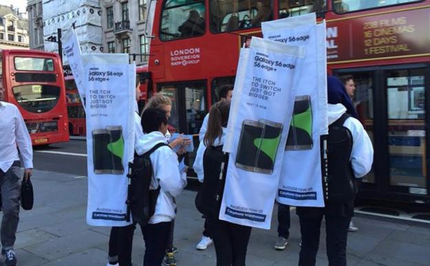 Samsung se burla de Apple en el lanzamiento del iPhone 6s
