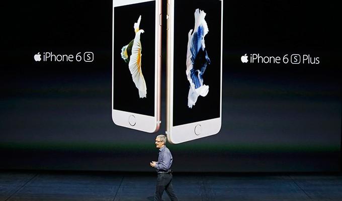 Presentación del iPhone 6s y del iPhone 6s Plus