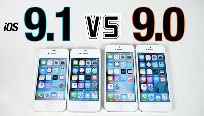 iOS 9.1 Beta vs iOS 9.0: vídeo de comparación de rendimiento
