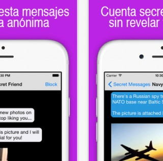 Chat Anónimo – Secreto, la App para mantener secretos