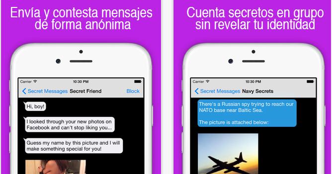 aplicaciones para chatear en secreto