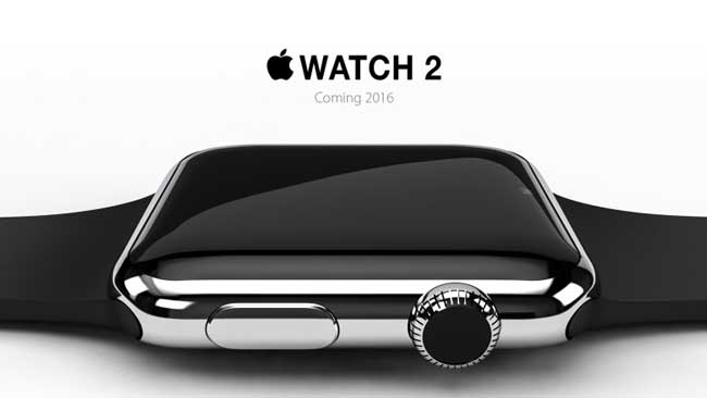 Concepto de lo que podría ser el Apple Watch 2