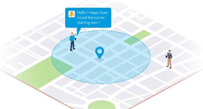 GoodBarber el primero en ofrecer Notificaciones Geolocalizadas