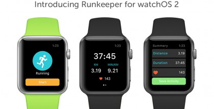 Runkeeper WatchOS2