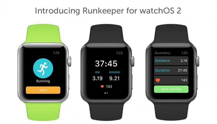 Runkeeper permite seguir un entrenamiento sin el iPhone