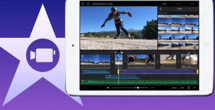 iMovie iPad