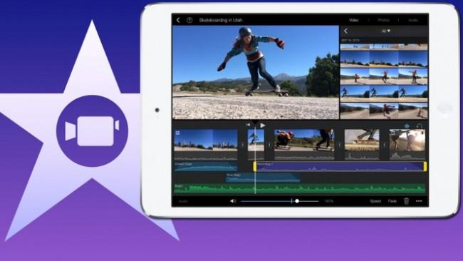 iMovie se actualiza para iOS acelerando y mejorando la app