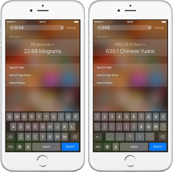 iOS-9-Spotlight-unit-and-currency-conversion-iPhone