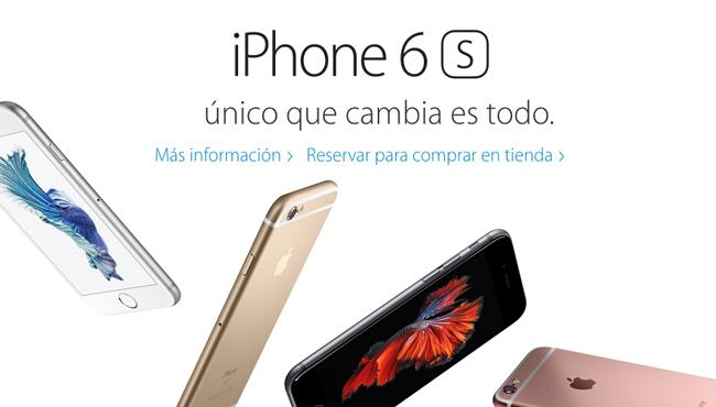 El iPhone 6s y el 6s Plus ya se pueden reservar en España
