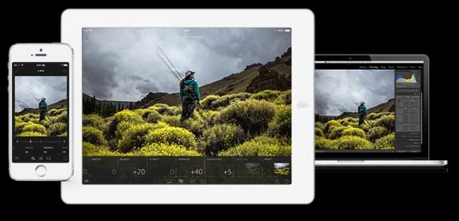 Lightroom para la edición de fotos, llega gratuita para iOS