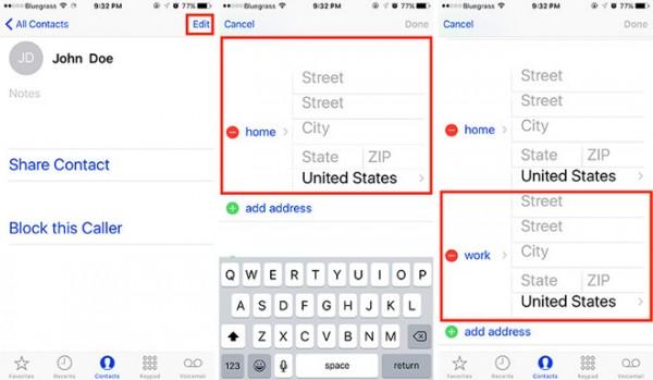 localizacion Siri