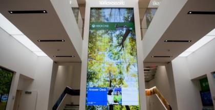 Nueva tienda de Microsoft, situada en la Quinta Avenida de Nueva York