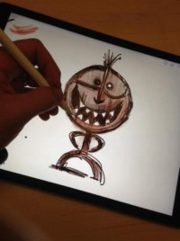 iPad pro - disney pixar 2