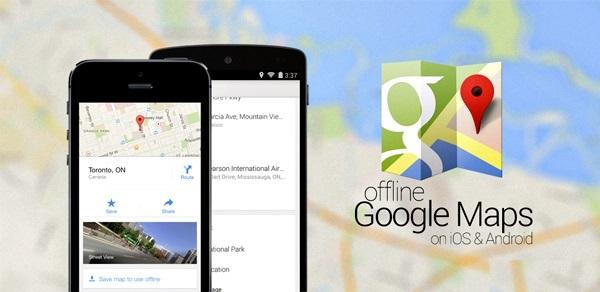 Google Maps: añade búsqueda y navegación fuera de línea