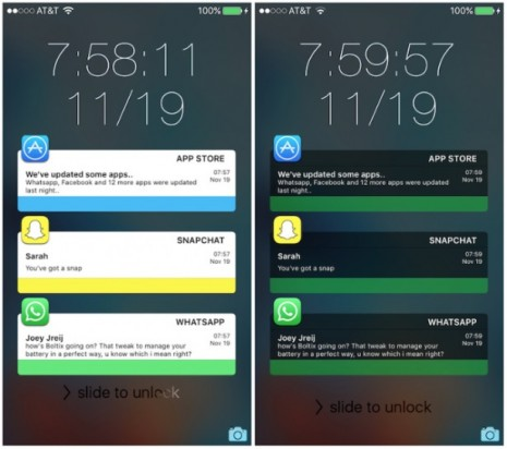 NotificationCards: un tweak de Cydia que modifica las notificaciones en iOS