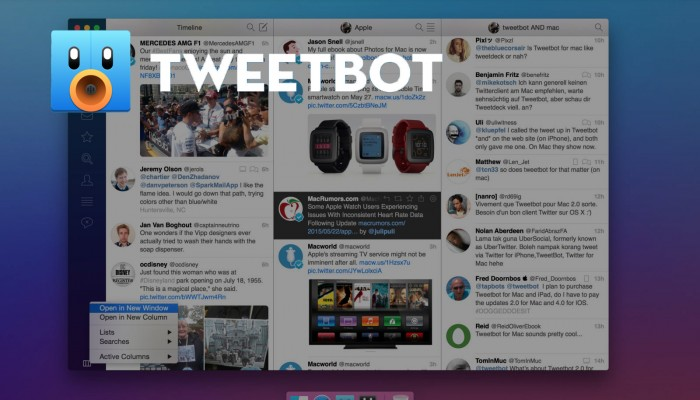 Tweetbot se actualiza y se adapta a OS X El Capitan