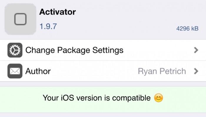 Activator se actualiza para aprovechar el nuevo 3D Touch