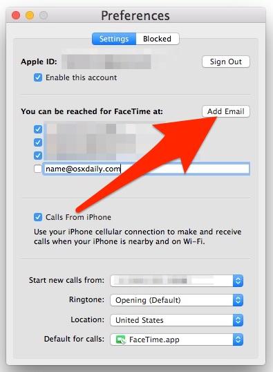 como agregar el correo electronico: