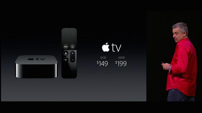 Primera actualización del nuevo Apple TV: tvOS 9.0.1