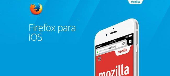 Firefox ya está disponible para iOS en España