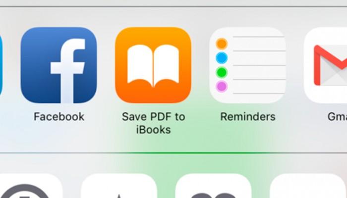 Convertir una página web en PDF es fácil gracias a iOS 9