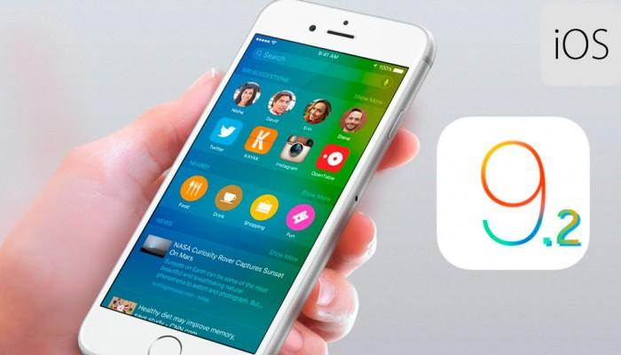 Apple libera la cuarta beta de iOS 9.2 para desarrolladores
