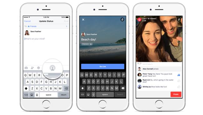 Facebook activa el Live Streaming en las páginas verificadas