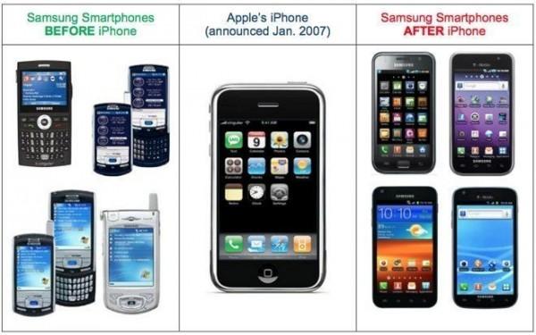 Samsung pagará a Apple