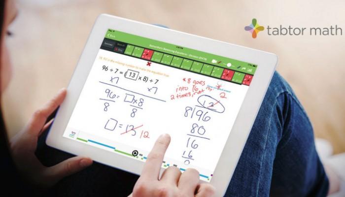 Tabtor math: aplicación matemática con tutor humano
