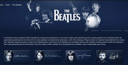 The Beatles Apple Music iTunes Store