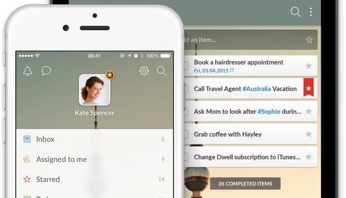 Wunderlist se actualiza para iOS con soporte 3D Touch