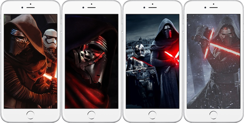Wallpapers de star wars el despertar de la fuerza iosmac for Fondo de pantalla star wars
